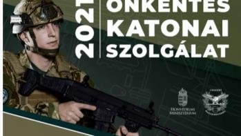 Augusztus 31-ig jelentkezhetsz önkéntes katonai szolgálatra
